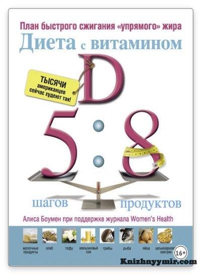 Диета с витамином D план быстрого сжигания упрямого жира
